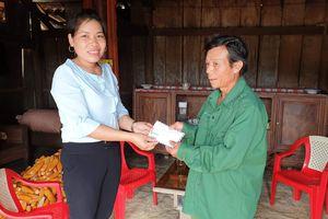 Báo SGGP trao 10 triệu đồng cho cựu binh có hoàn cảnh khó khăn ở Quảng Bình