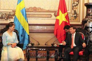 TPHCM - Thụy Điển đẩy mạnh hợp tác về môi trường