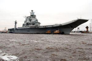Nga sẽ chế tạo tàu sân bay nguyên tử