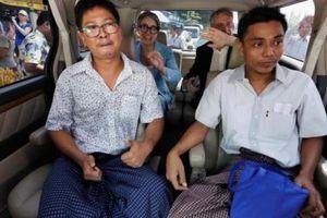 Đôi điều về hai nhà báo Reuters mới được thả tại Myanmar