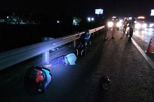 Tai nạn trên đường cao tốc TP.HCM - Trung Lương, nam thanh niên nguy kịch