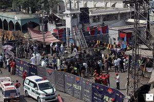 Nổ bom ở gần đền thờ Pakistan, 9 người thiệt mạng, 24 người bị thương
