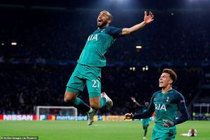 Lucas Moura lập hat-trick, Tottenham vào chung kết Champions League