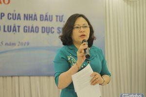 Đại biểu Ngô Thị Minh mong nhận ý kiến từ các trường tư thục để hoàn thiện Luật