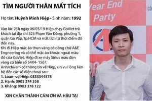TP HCM: Thanh niên chạy GoViet mất tích, nghi bị bắt cóc tống tiền