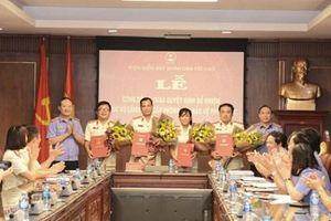 Bổ nhiệm lãnh đạo cấp phòng thuộc Báo Bảo vệ pháp luật