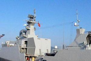 Tàu Hải quân Việt Nam tham gia Diễn tập ADMM+ tại Singapore