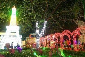 Hấp dẫn với lễ hội ánh sáng lần đầu tiên tại Hà Tĩnh