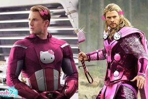 Khi các siêu anh hùng là fan của mèo hồng Kitty, biệt đội super pink cat đã sẵn sàng!