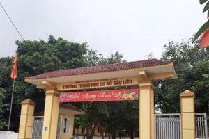 Hồng Lĩnh, Hà Tĩnh: Nghiêm khắc phê bình giáo viên đánh, gạt sách vở học sinh trong tiết học