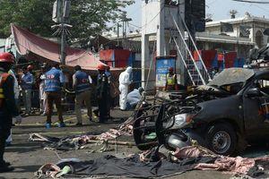 Pakistan: Nổ lớn gần một ngôi đền Hồi giáo gây nhiều thương vong