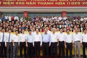 Thủ tướng Chính phủ thăm Triển lãm 'Thanh Hóa xưa và nay'