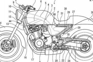 Lộ bản thiết kế mẫu xe mới, Honda dự định phát triển CB400 theo khuynh hướng Neo Sport Café ?
