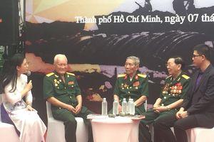 Lặng người trước thông điệp của các cựu chiến binh trong lễ kỷ niệm 65 năm chiến thắng Điện Biên Phủ