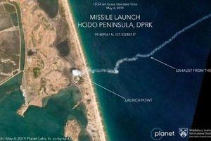 Bức ảnh 'triệu tấm có một' vụ Triều Tiên phóng tên lửa