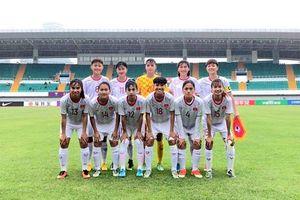 U19 nữ Việt Nam thắng đậm Nam Phi trên đất Trung Quốc