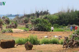 Giao dịch mua bán đất tại đảo Phú Quý diễn biến phức tạp