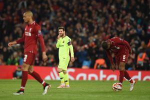 Barcelona thua thảm Liverpool: Thiên tài Messi không gánh nổi đại cục