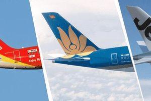 Từ 1/7/2019, giá vé máy bay nội địa không vượt quá 3,75 triệu đồng