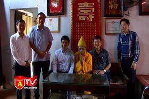 CATP Hà Nội chúc mừng Đại lễ Phật đản Đại lão Hòa thượng Thích Phổ Tuệ