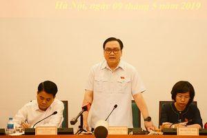 Giải quyết kịp thời những ý kiến, kiến nghị của cử tri Thủ đô