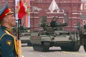 Lần đầu lễ duyệt binh Nga vắng bóng Không quân