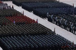 Nga diễu binh rầm rộ kỷ niệm Ngày Chiến thắng