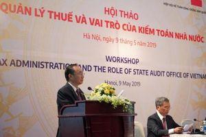 Vai trò của kiểm toán Nhà nước trong công tác quản lý thuế