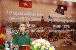 Mít-tinh trọng thể kỷ niệm 65 năm Chiến thắng Điện Biên Phủ tại Lào
