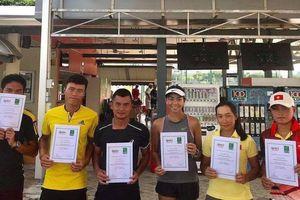Việt Nam giành ngôi á quân giải quần vợt đồng đội Đông Nam Á 2019