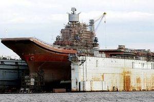 Tàu Đô đốc Kuznetsov hết cách, Nga tính chuyện đóng tàu sân bay mới