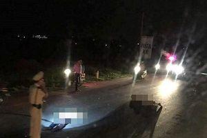 Vụ Trung tá CSGT đi cấp cứu vì bị xe máy tông ở Nghệ An: Tài xế là công an viên