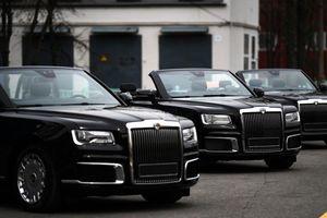 Ngắm 'Rolls-Royce mui trần' của nước Nga trước giờ diễu binh