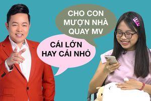 Chỉ một cuộc điện thoại đã chứng tỏ Quang Lê cưng 'con gái' đến thế này