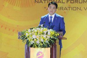 Ông Nguyễn Đức Chung: Hà Nội khuyến khích các doanh nghiệp công nghệ