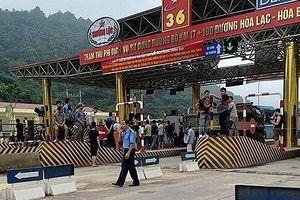 Bộ GTVT đề nghị xử nghiêm đối tượng gây rối BOT Hòa Lạc-Hòa Bình