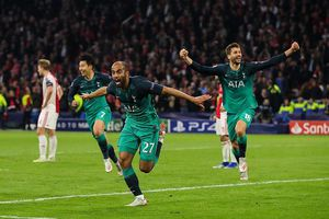 Tottenham ngược dòng 'điên rồ', Lucas xứng đáng được dựng tượng