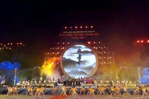 Hàng nghìn người dân đội mưa dự lễ 990 năm Thanh Hóa