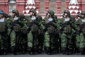Quân đội Nga duyệt binh tại Quảng trường Đỏ mừng Ngày Chiến thắng