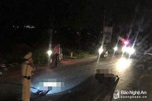 Công an Nghệ An thông tin chính thức vụ trung tá cảnh sát giao thông bị tai nạn