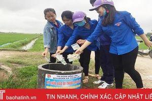 Hà Tĩnh triển khai chương trình 'chống rác thải nhựa' trên toàn địa bàn