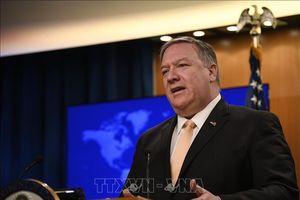 Ngoại trưởng Mỹ rút ngắn chuyến thăm châu Âu để về nước thảo luận tình hình Iran và Triều Tiên