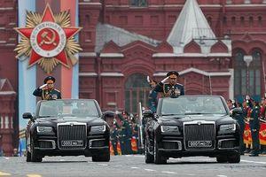 Nga lần đầu khoe xe siêu sang tự sản xuất trong lễ duyệt binh Ngày Chiến thắng
