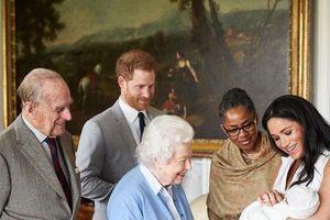 Con trai Hoàng tử Harry và Meghan không có tước hiệu hoàng gia