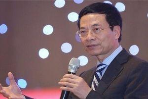 Bộ trưởng Nguyễn Mạnh Hùng: Startup là nền tảng để Việt Nam hóa khổng lồ
