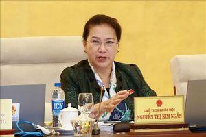 Phiên họp thứ 34, Ủy ban Thường vụ Quốc hội cho ý kiến về một số dự thảo luật, chuẩn bị cho Kỳ họp thứ 7 của Quốc hội