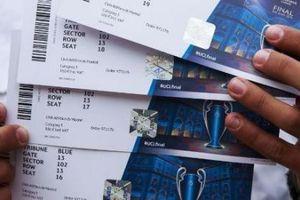 Giá vé xem chung kết Champions League bị đẩy lên tới hơn 120 triệu đồng
