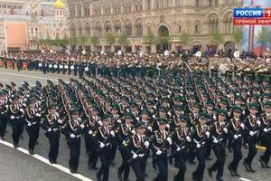 13.000 binh sĩ Nga duyệt binh ở Quảng trường Đỏ kỷ niệm chiến thắng Phát xít