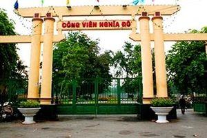 Tìm tung tích nạn nhân chết trước cổng Công viên Nghĩa Đô