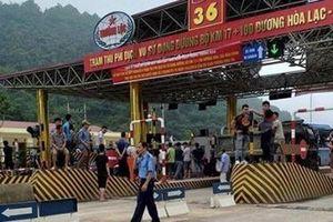 Đảm bảo an ninh trật tự tại trạm thu phí trên đường Hòa Lạc - Hòa Bình